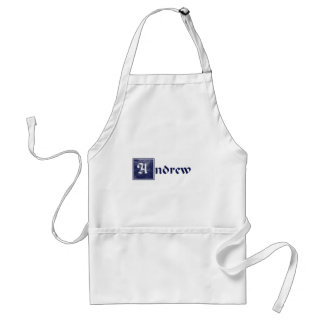 Andrew, courageous adult apron