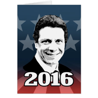 ANDREW CUOMO 2016 Candidate Stationery Note Card