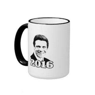 ANDREW CUOMO 2016 Candidate Ringer Coffee Mug