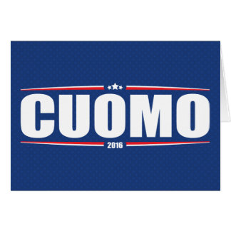 Andrew Cuomo 2016 (Stars & Stripes - Blue) Greeting Card