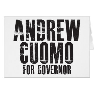 Andrew Cuomo For Governor 2010 Greeting Card
