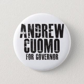 Andrew Cuomo For Governor 2010 Pinback Button