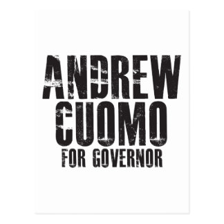 Andrew Cuomo For Governor 2010 Postcard