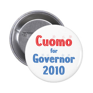 Andrew Cuomo for Governor 2010 Star Design Pins