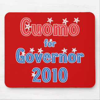 Andrew Cuomo for Governor 2010 Star Design Mouse Pad