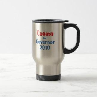 Andrew Cuomo for Governor 2010 Star Design 15 Oz Stainless Steel Travel Mug