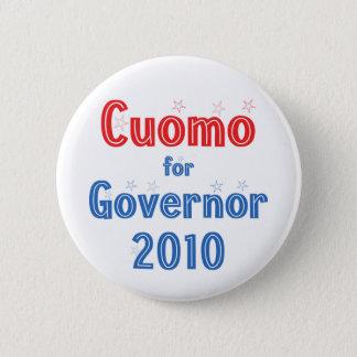 Andrew Cuomo for Governor 2010 Star Design Pinback Button