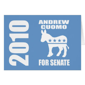 ANDREW CUOMO FOR GOVERNOR GREETING CARD