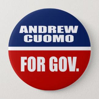 ANDREW CUOMO FOR GOVERNOR PINBACK BUTTON