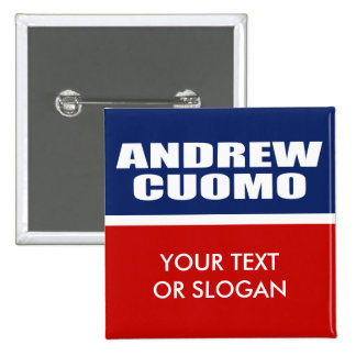 ANDREW CUOMO FOR GOVERNOR PINBACK BUTTON
