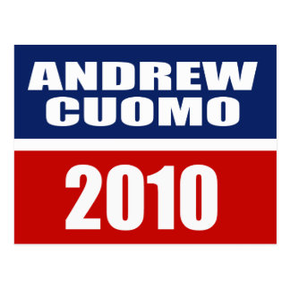 ANDREW CUOMO FOR GOVERNOR POSTCARD