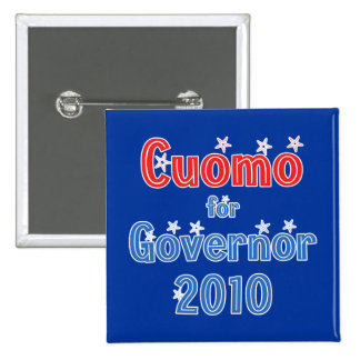 Andrew Cuomo para el diseño de la estrella del gob Pin Cuadrada 5 Cm