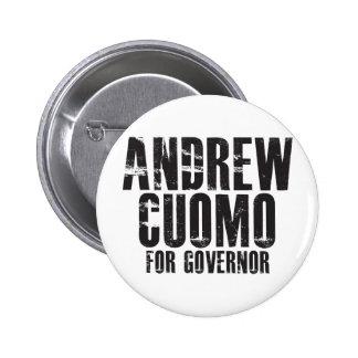 Andrew Cuomo para el gobernador 2010 Pin