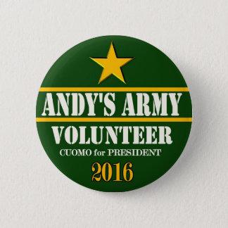 Andrew Cuomo President 2016 Pinback Button
