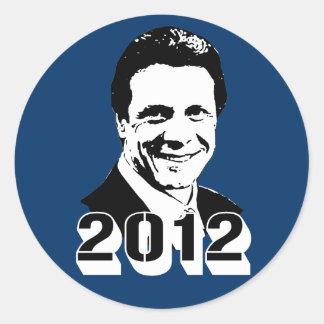 Andrew Cuomo Classic Round Sticker