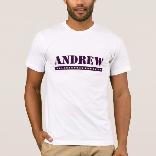 Andrew de encargo playera
