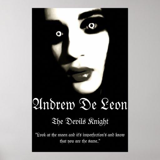 Andrew De Leon - Official Devils Knight Poster