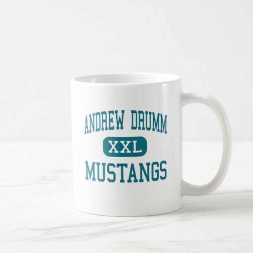 Andrew Drumm - Mustangs - High - Independence Coffee Mugs
