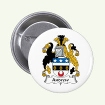 Andrew Family Crest Button
