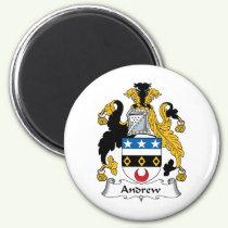 Andrew Family Crest Magnet