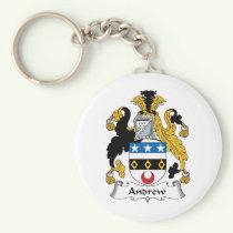 Andrew Family Crest Keychain