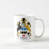 Andrew Family Crest Mug
