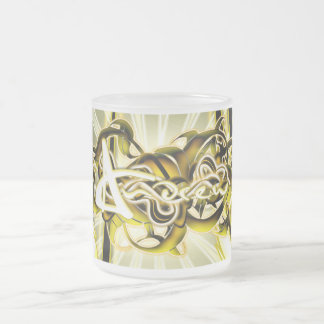 Andrew Frosted Glass Coffee Mug