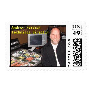 Andrew Herzman, Technical Director Postage Stamp