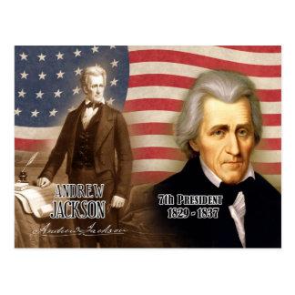 Andrew Jackson - 7mo presidente de los E.E.U.U. Postales