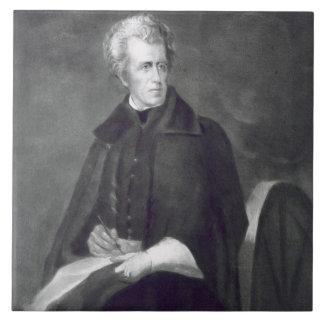 Andrew Jackson, 7mo Presidente de los Estados Unid Azulejo Cuadrado Grande