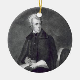 Andrew Jackson, 7mo Presidente de los Estados Unid Ornamentos De Navidad