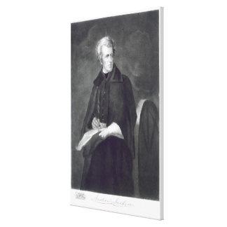 Andrew Jackson, 7mo Presidente de los Estados Unid Impresiones En Lienzo Estiradas