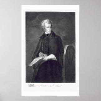 Andrew Jackson, 7mo Presidente de los Estados Unid Posters