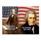 Andrew Jackson - 7th President of the U.S. Postcard