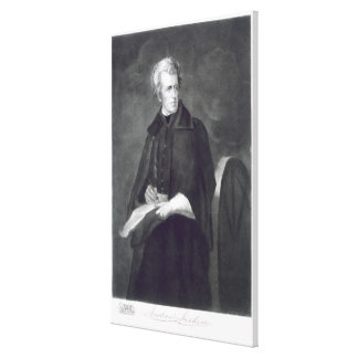 Andrew Jackson, 7th President of the United States Gallery Wrap Canvas