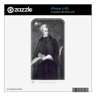 Andrew Jackson, 7th President of the United States Decals For iPhone 4