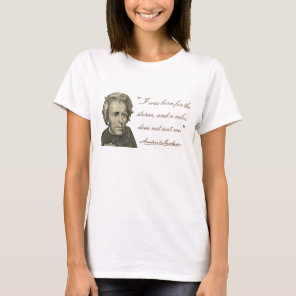 "Andrew Jackson ""Born for the Storm"" T-Shirt"