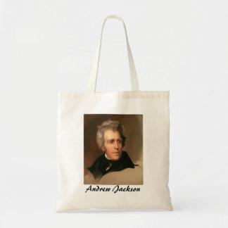 Andrew Jackson Budget Tote Bag