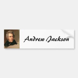 Andrew Jackson Pegatina De Parachoque