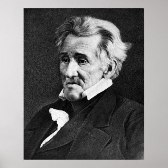 ANDREW JACKSON Daguerreotype  by Mathew Brady Poster