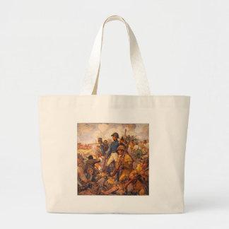 Andrew Jackson durante la batalla de New Orleans Bolsa Tela Grande