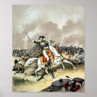 Andrew Jackson en la batalla de New Orleans Impresiones