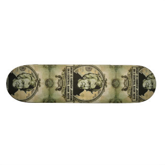 Andrew Jackson End the Fed Skateboard