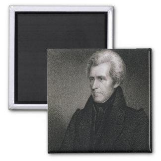 Andrew Jackson (engraving) Magnet