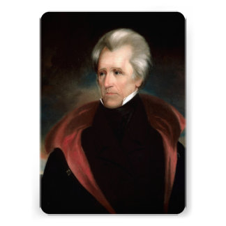 Andrew Jackson Custom Invite