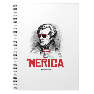Andrew Jackson 'Merican Party Notebook