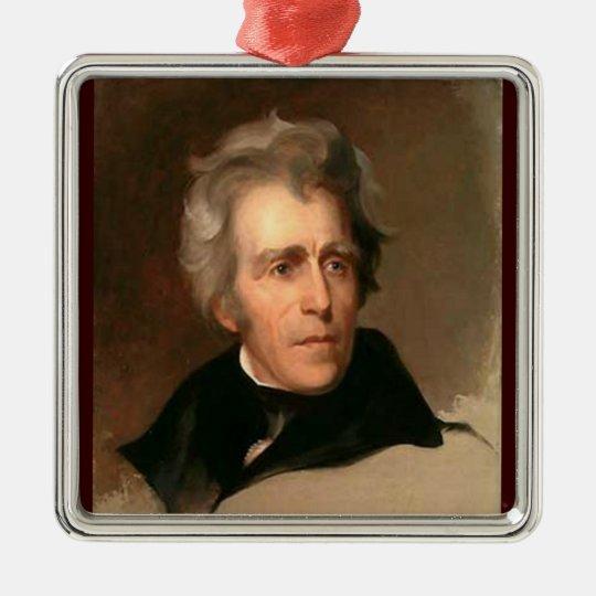 Andrew Jackson Metal Ornament