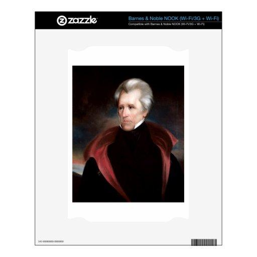 Andrew Jackson NOOK Calcomanía