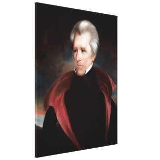 ANDREW JACKSON Painting by Ralph E. W. Earl Print