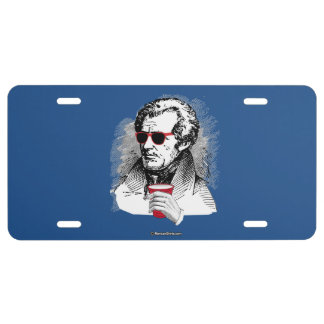 Andrew Jackson Party Animal License Plate